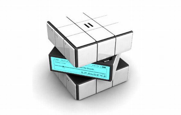 MP3 Player Rubik's Cube