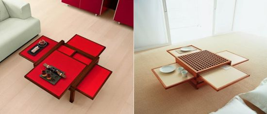 multi surface low tables