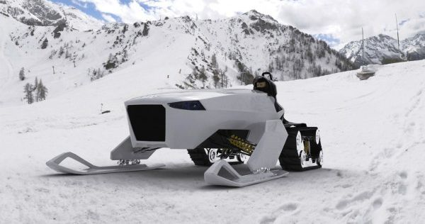 nanuq green alpine vehicle