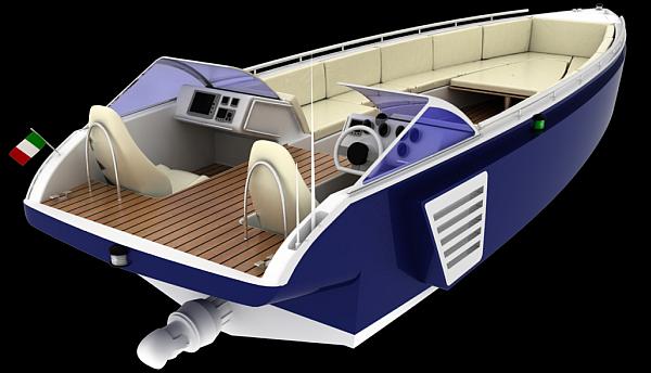natural gas boat