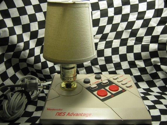 nes advantage joystick desktop lamp 01