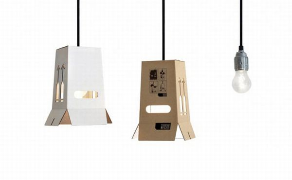 new flat cardboard lamps shades