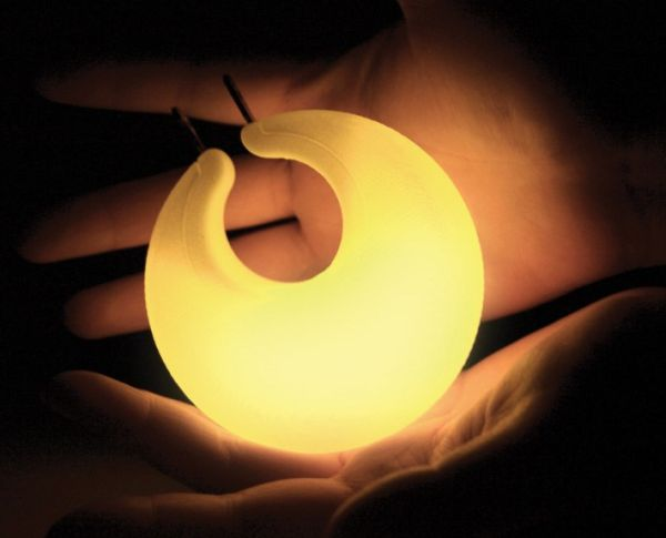 newmoon portable and rechargeable light