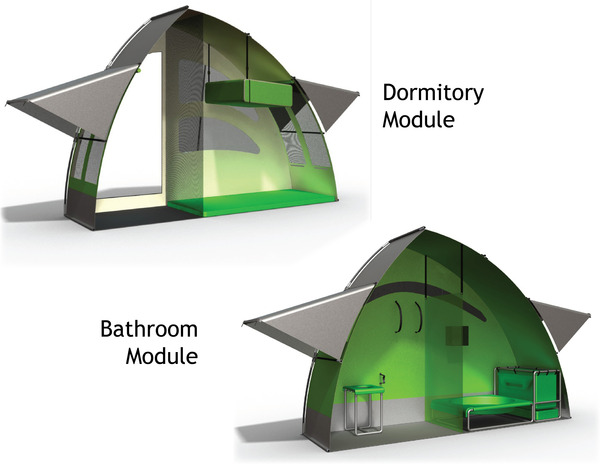 Portable Homeless Shelters Design : Nido portable shelter offers safe refuge to the homeless