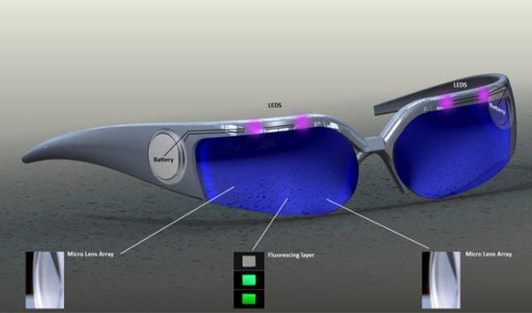 Майнкрафт как сделать очки ночного видения