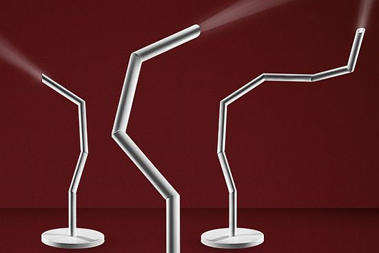 Nightstick Floor Lamp Led Lighting In Ultra Modern