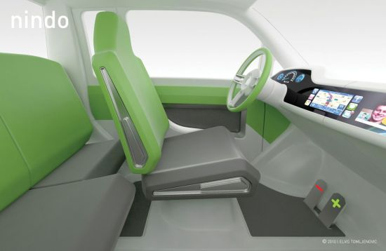 nindo concept electric microcar by elvis tomljenov