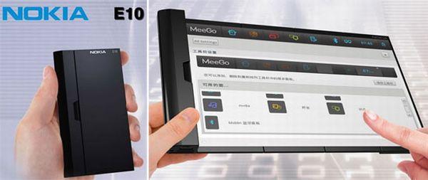 nokia e10 concept phone