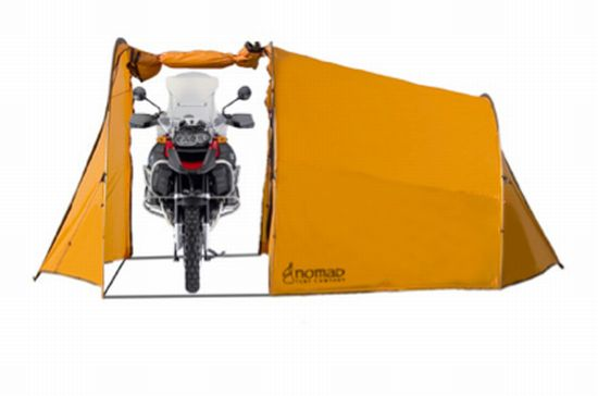 nomad motorcycle tent 2