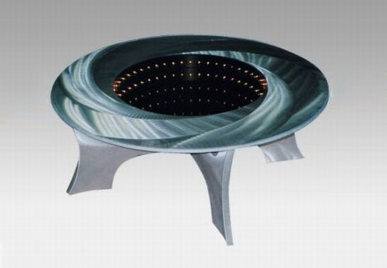 nova black hole illuminated coffee table