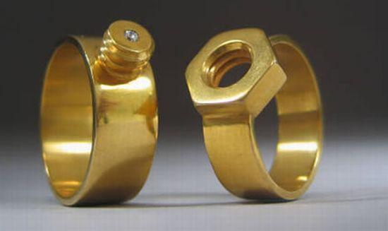 nuts bolt weddingring