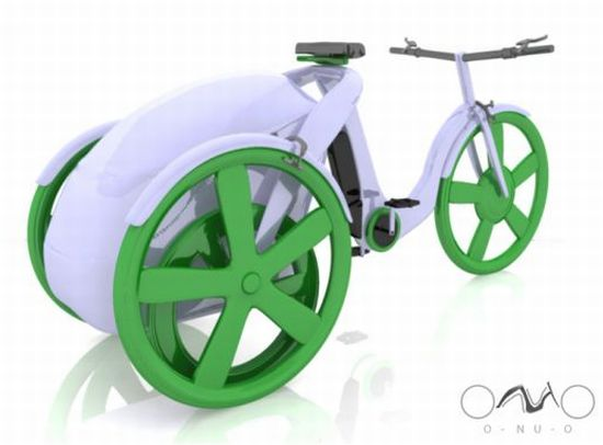 o nu o electric tricycle