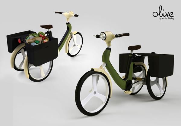Olive Public bike