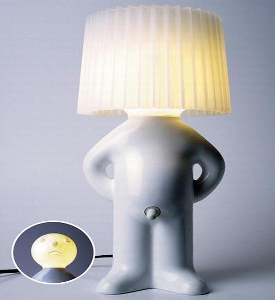 Hilarious One Man Shy Grecian Lamp Designbuzz