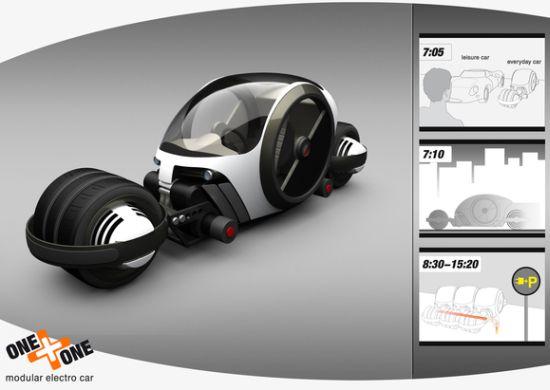 one one modular electro car 01