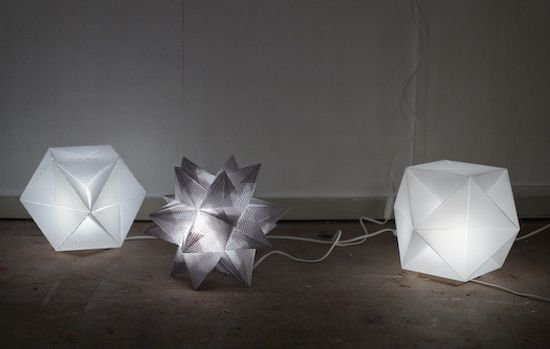 origami solarcell lamp isboi 58