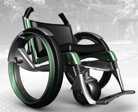 outdoor accessible wheelchair