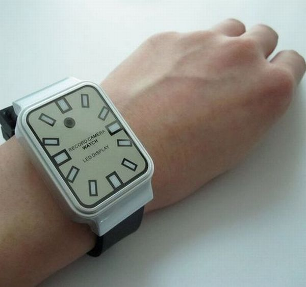 owsa led watch camera dvr with mp3 player 4gb inne