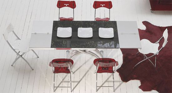 ozzio transformable table 4