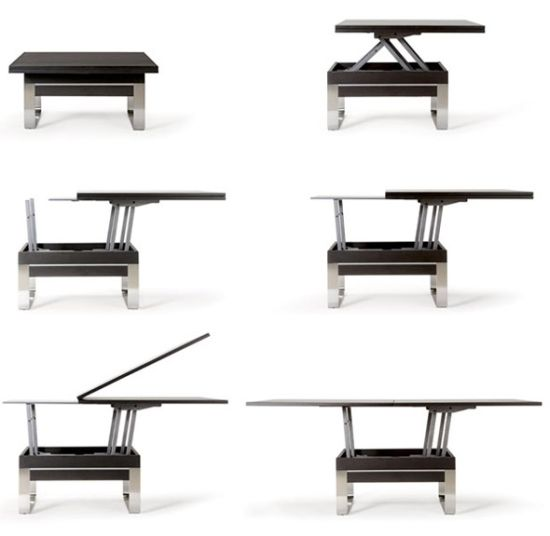 Ozzio transformable tables use them the way you want designbuzz - Table transformable but ...