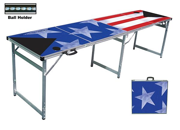 PatriotPong Premium Beer Pong Table