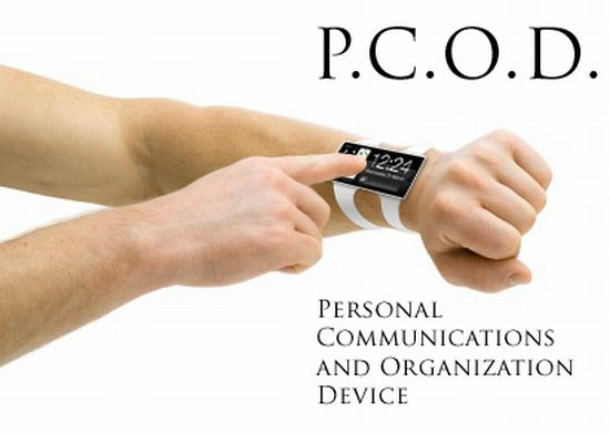 pcod phone on wrist 1