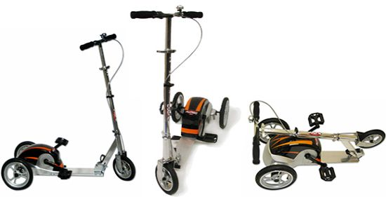 pedal powered scooters ABDAJ 58