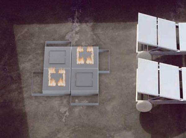 pegasus modular outdoor fireplace 4