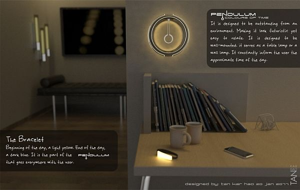pendulum colour clock 01