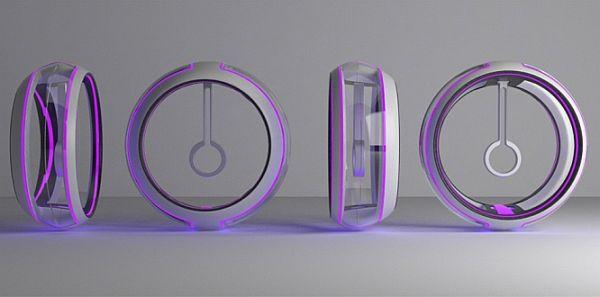 pendulum colour clock