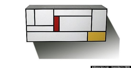 piet mondrian inspired bathroom cabinet2