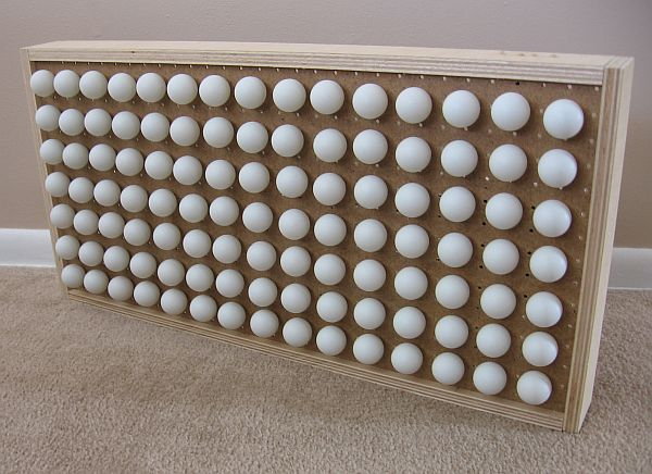 ping pong ball clock 02