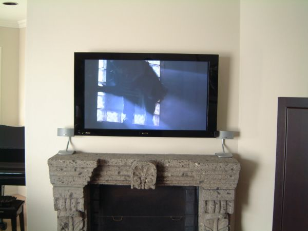 Plasma Screen Fireplace