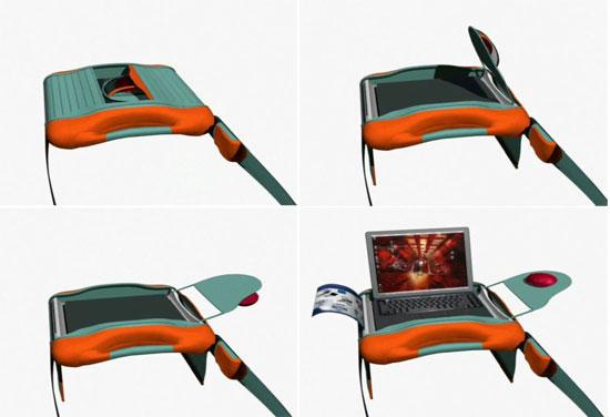 portable laptop bag 17