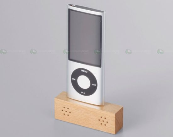 portable wooden speakers