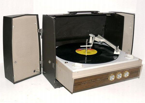 Portable Vintage Stereo