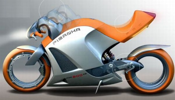 Poschwatta motorcycle concept