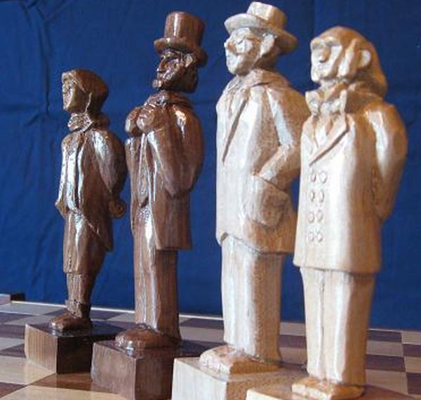 Presidential Chess Set