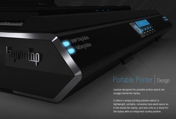 printer top