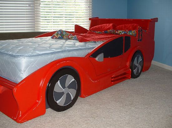 race car bed image 1