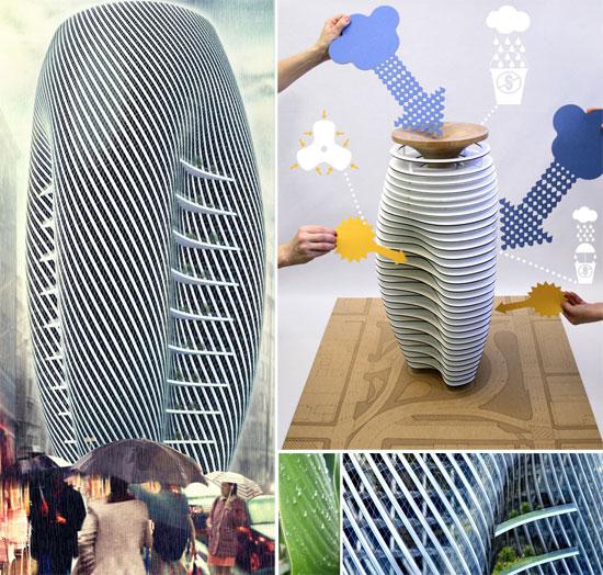 rain collector skyscraper