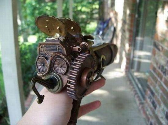 ray gun steampunk 1