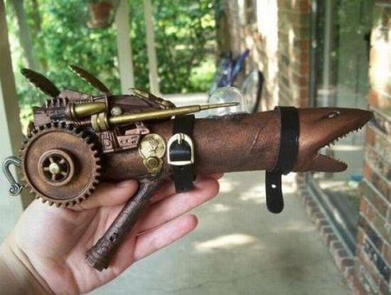 ray gun steampunk 2