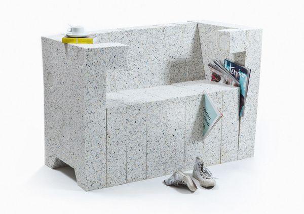 recycling chair sofa