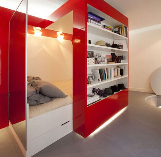 red nest tiny apartment 5