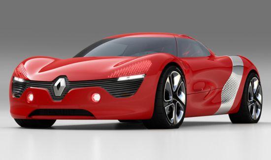 renault dezir all electric concept supercar 1