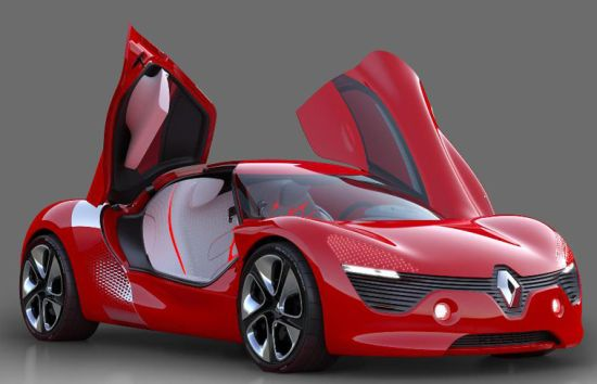 renault dezir all electric concept supercar 2