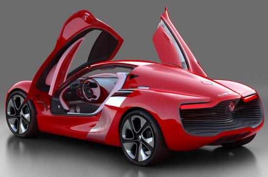 renault dezir all electric concept supercar 3