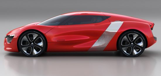 renault dezir all electric concept supercar 4