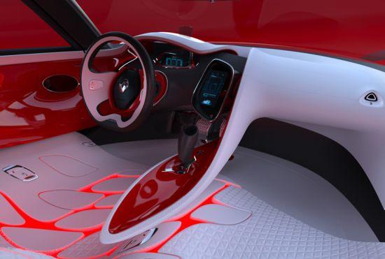 renault dezir all electric concept supercar 5